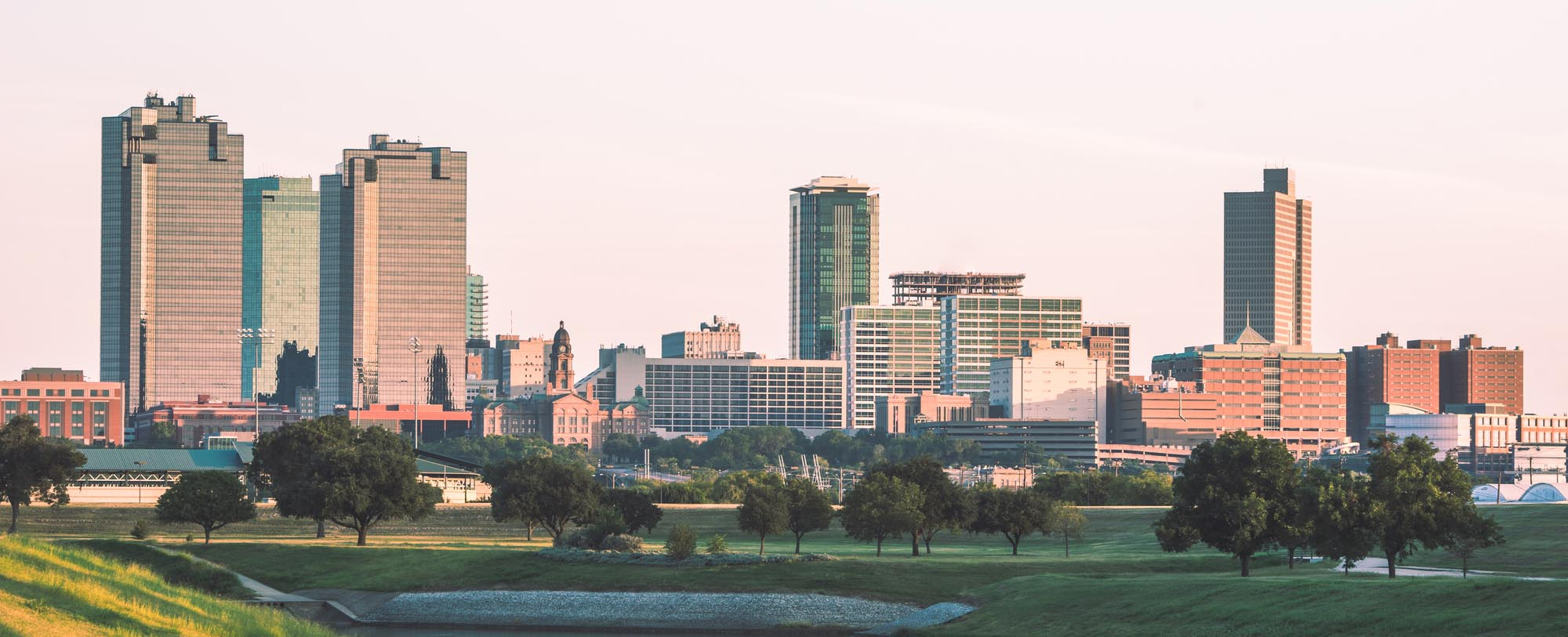 A view of downtown Fort Worth