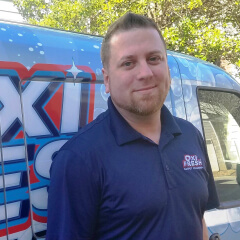 David Smith, Oxi Fresh Carpet Cleaning in Jackson franchisee