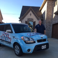 Gene Allison, Oxi Fresh Carpet Cleaning in Frisco franchisee
