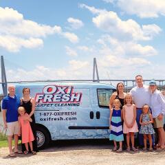 Todd Silberhorn & Brandon Baney, Oxi Fresh Carpet Cleaning in Charleston franchisees