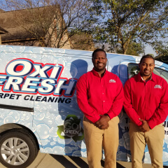 Larry Williams, Oxi Fresh Carpet Cleaning in Baton Rogue franchisee